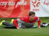 TRENING REPREZENTACJI POLSKI --- POLAND NATIONAL FOOTBALL TEAM TRAINING IN WARSAW