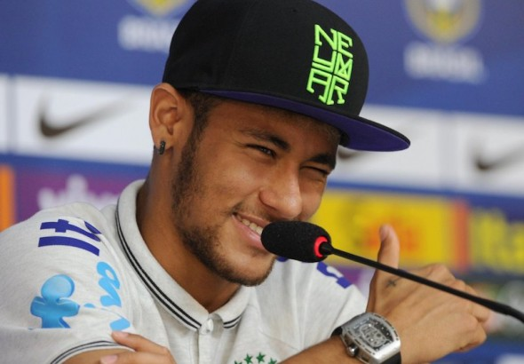 neymar-wearing-a-hat-cap-of-his-own-brand